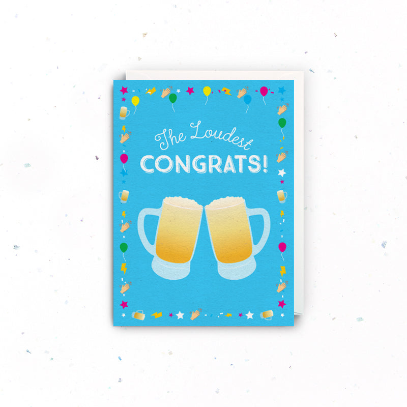Congrats Cheers Card