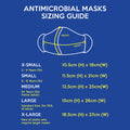 Cheery Bright Antimicrobial Face Mask (Kids & Adult Sizes)