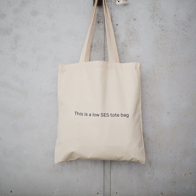 Low SES Tote Bag