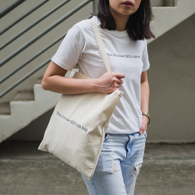 LOW SES Set (T-shirt and Tote Bag)