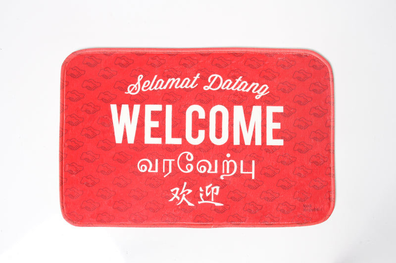Welcome Doormat (Red)