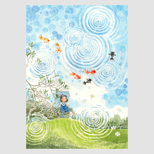 Ripples in the Wind 8.90 Notebook