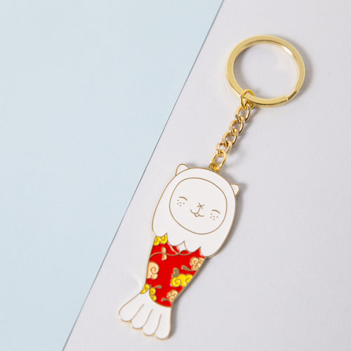 Merlion Outfit Keychain - Cheongsam