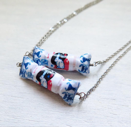 White Rabbit Sweet Necklace