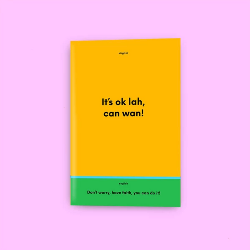 It's Ok Lah, Can Wan! Notebook