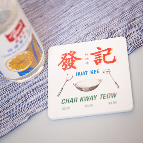 Char Kway Teow Coaster