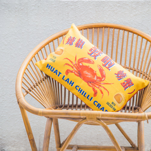 Chilli Crab Cushion Cover