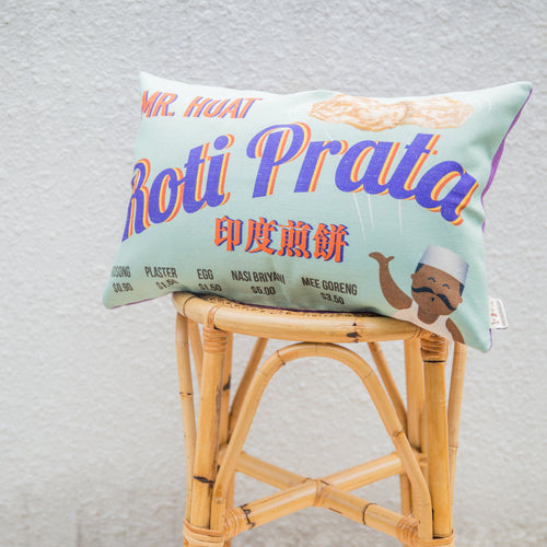 Roti Prata Cushion Cover