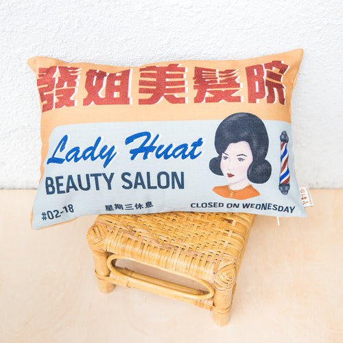 Salon Cushion Cover