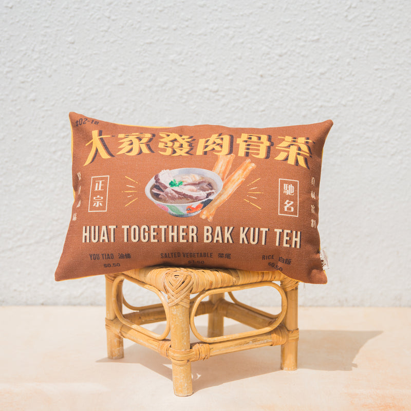 Bak Kut Teh Cushion Cover