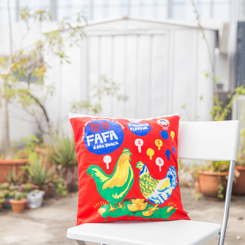 Fafa Cushion Cover