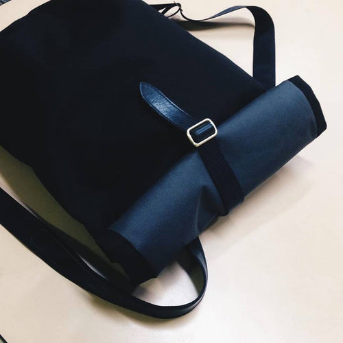 Black Kerouac Bag