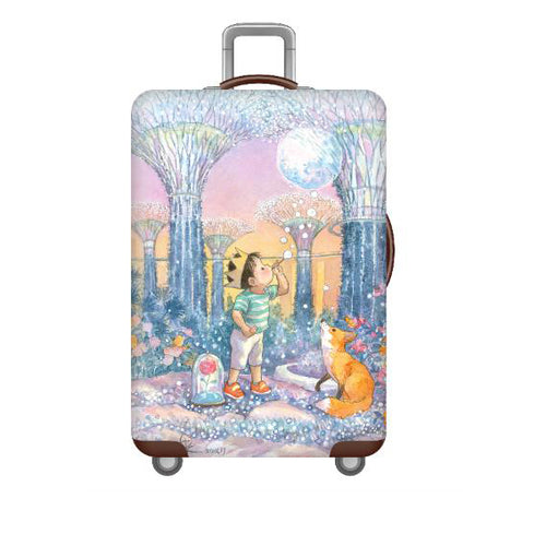 Gardens by the Bay (Rise My Little Moon) Luggage Cover