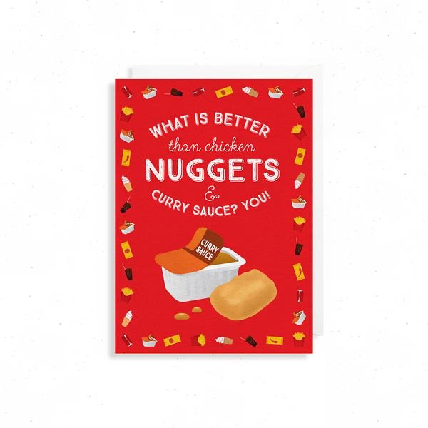 Nuggets friendship Card