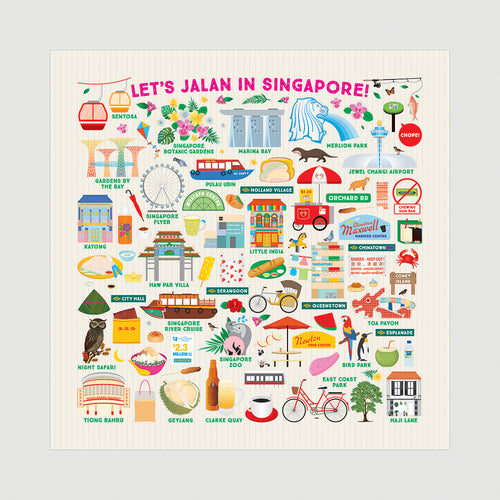 Let's Jalan in Singapore Beeswax Food Wrap