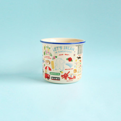 Let's Jalan in Singapore Ceramic Mug
