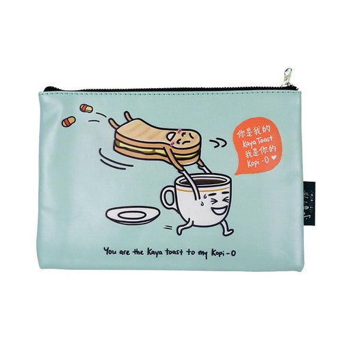 Kaya Toast and Kopi Pouch