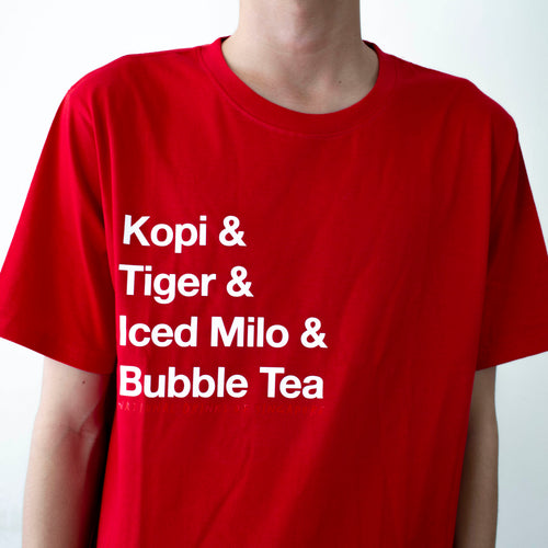National Drinks of Singapore T-shirt