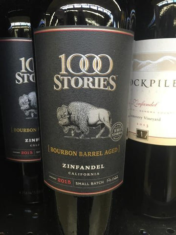 1000 Stories Zinfandel Bourbon Barrel Aged 2015