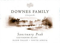 Downes Family Sauvignon Blanc Sanctuary Park 2014