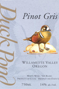 Duck Pond Pinot Gris 2016