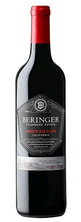 Beringer Smooth Red Blend Founders' Estate 2015
