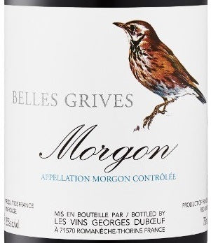 Georges Duboeuf Morgon Belles Grives 2014