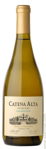 Catena Alta Chardonnay Historic Rows 2014