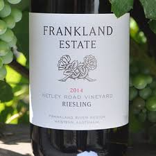 Frankland Estate Riesling Netley Road 2014