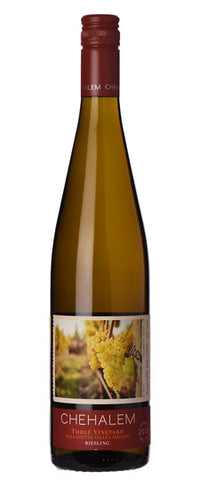 Chehalem Riesling Three Vineyard 2013