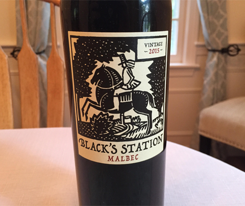 Black's Station Malbec 2015
