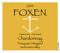 Foxen Chardonnay Tinaquaic Vineyard 2014