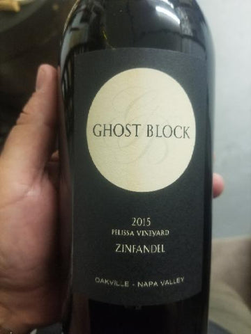 Ghost Block Zinfandel Pelissa Vineyard 2015