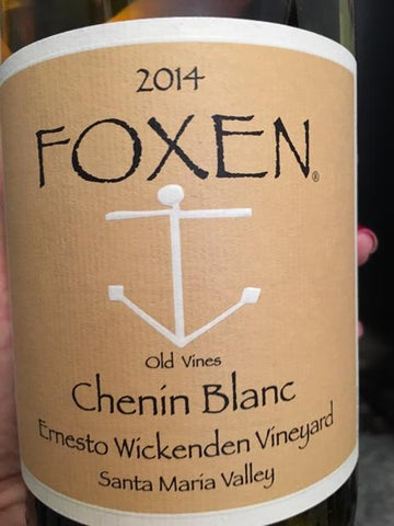 Foxen Chenin Blanc Old Vines Ernesto Wickenden Vineyard 2014