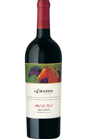 14 Hands Vineyards Hot To Trot Red Blend 2014