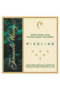 Tomasello Winery Riesling Dry Outer Coastal Plain 2015