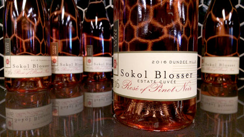 Sokol-Blosser Rose Of Pinot Noir Estate Cuvee 2016