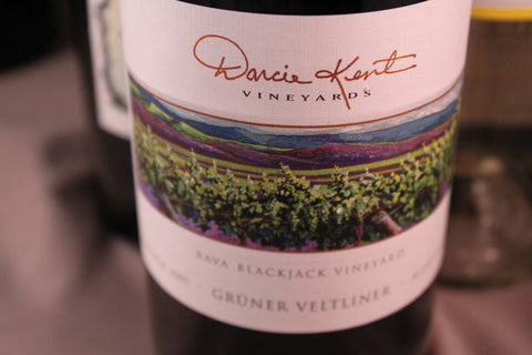 Darcie Kent Vineyards Sauvignon Blanc Rava's Blackjack Vineyard 2015