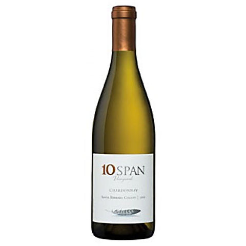 10 Span Vineyards Chardonnay Santa Barbara County 2013