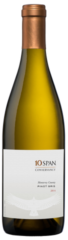 10 Span Vineyards Pinot Gris Conservancy 2014
