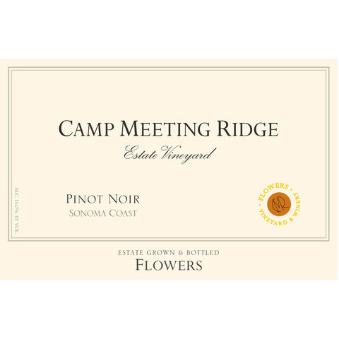Flowers Pinot Noir Camp Meeting Ridge 2014