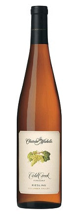 Chateau Ste. Michelle Riesling Cold Creek Vineyard 2015
