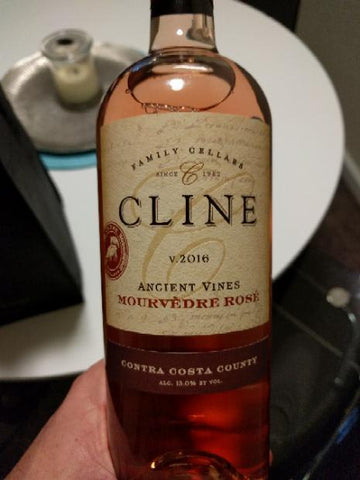 Cline Cellars Mourvedre Rose 2016