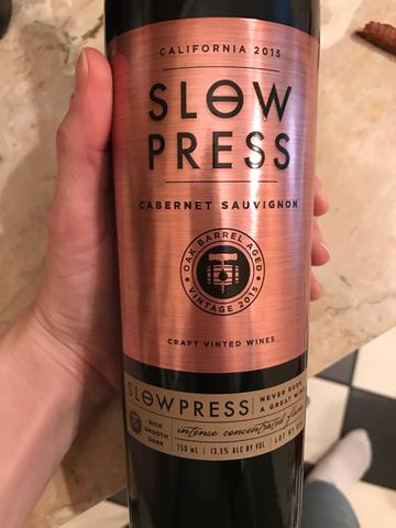Slow Press Cabernet Sauvignon 2015