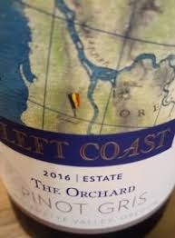 Left Coast Cellars Pinot Gris The Orchards 2016