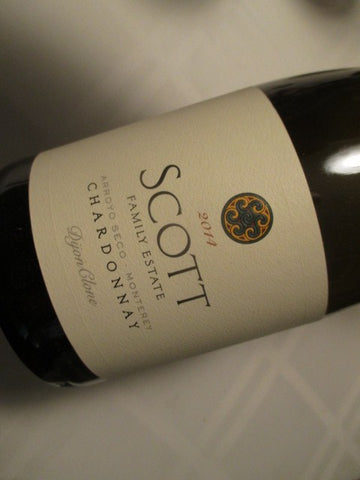 Scott Family Estate Chardonnay Dijon Clone 2014