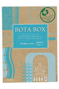 Bota Box Riesling (Bib) Square Box
