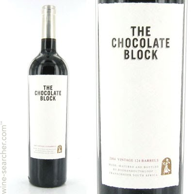 The Chocolate Block Red 2015