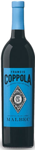 Francis Ford Coppola Diamond Collection Malbec Celestial Blue Label 2014