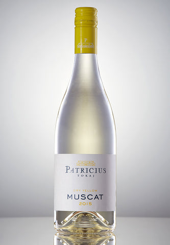 Patricius Muscat Dry Yellow 2015